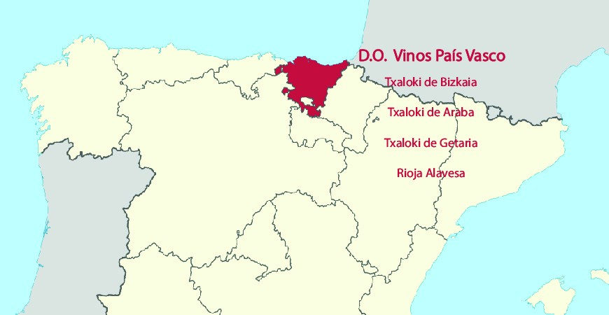 Denominaciones De Origen Vinos País Vasco – 2020