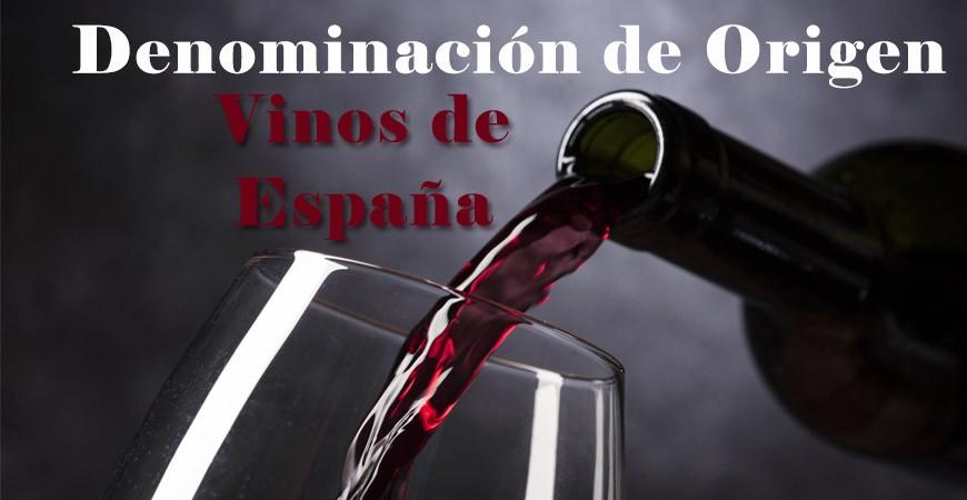 Denominaciones de Origen Vinos españoles en 2020
